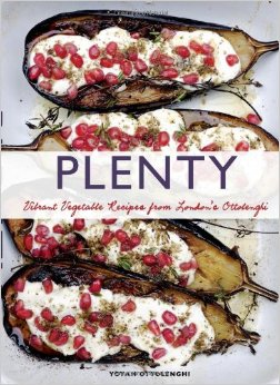 I tried the cover-photo recipe from Yotam Ottolenghi's Plenty vegetable cookbook... It was delicious!