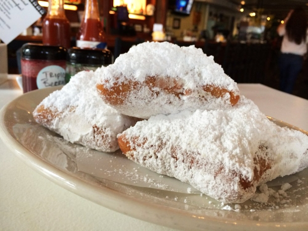 Beignets from Sassafras American Eatery in Jefferson Park, Denver. Best brunch in town