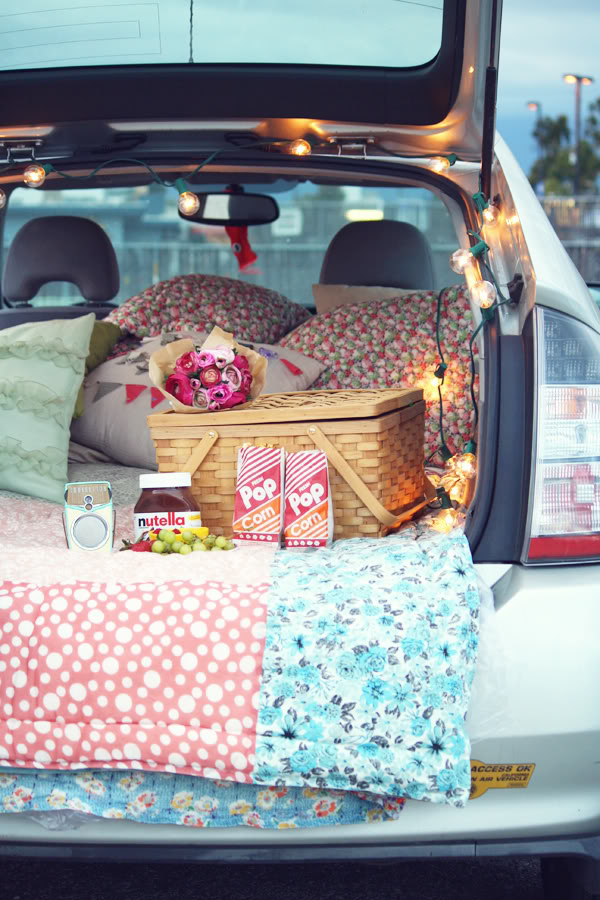 THINGS TO DO IN THE SUMMER: Date night at the drive-in movie theater | THE REAL LIFE