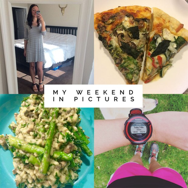 My Whirlwind Weekend in Pictures: running, rehearsals, recipes, and the pup! | THE REAL LIFE