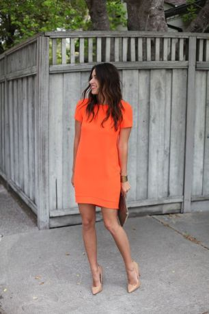 Orange dress for my next Stitch Fix