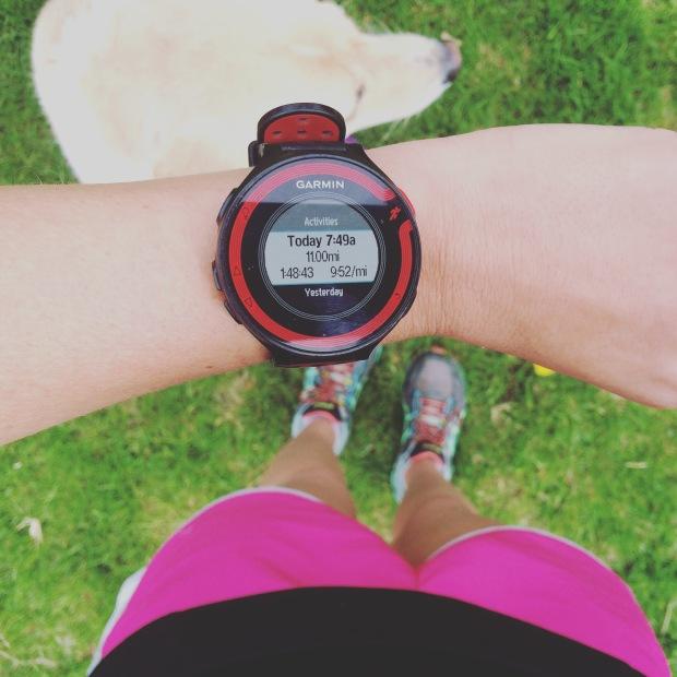 A Sunday long run in my weekend photo recap   THE REAL LIFE running, training, half marathon, speed, intervals