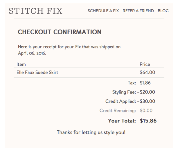 How to maximize your savings with Stitch Fix!