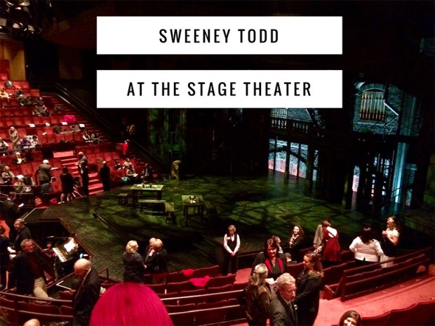 Sweeney Todd with DeVotchKa at Denver Center's Stage Theater: Go see it before May 15th!