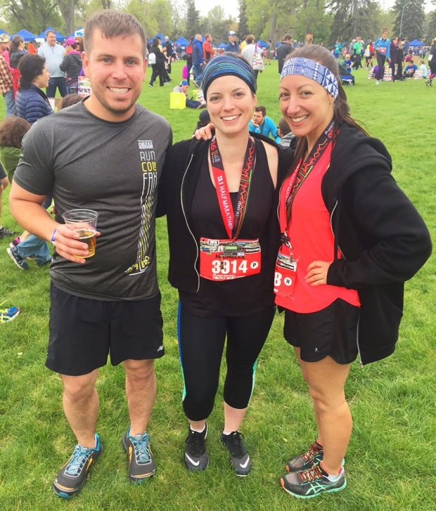 After the 2016 Colfax Half Marathon run