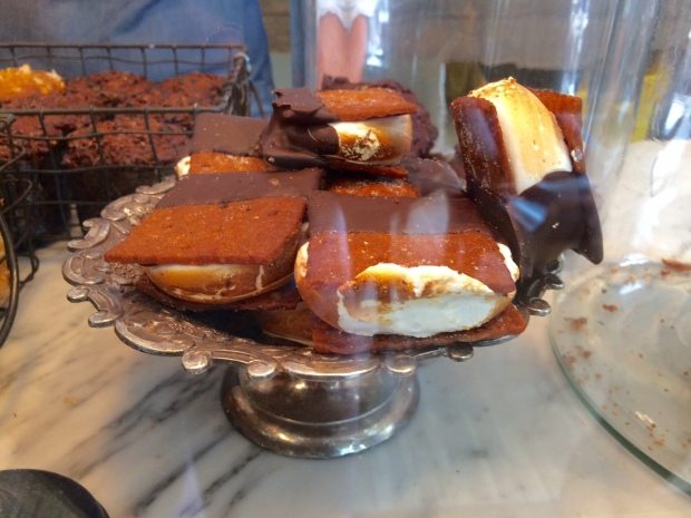 Baked smores at Persephone Bakery, Jackson Hole, Wyoming