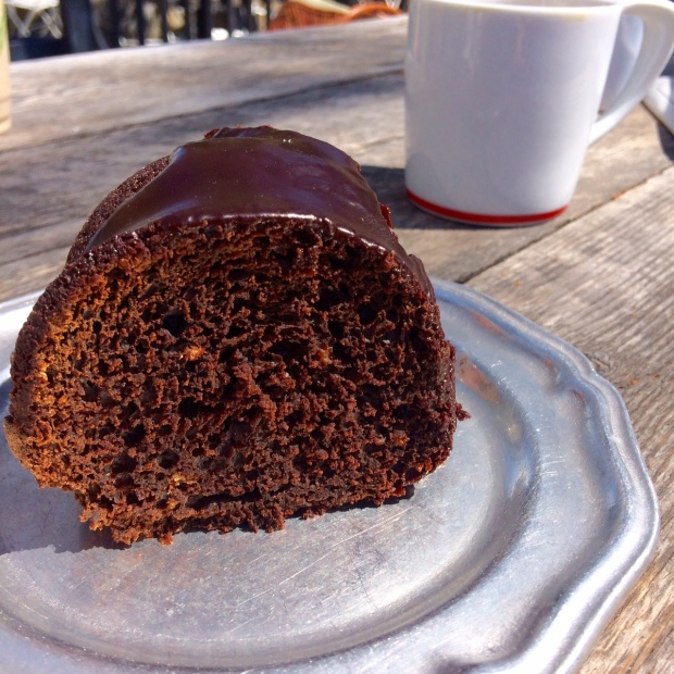 Chocolate cake, Persephone Bakery, Jackson Hole, Wyoming