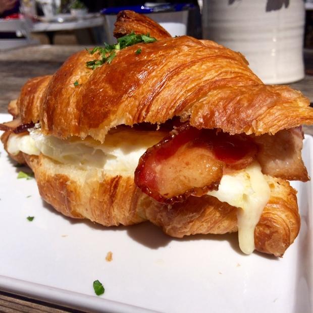 Egg Sandwich Croissant, Persephone Bakery, Jackson Hole, Wyoming