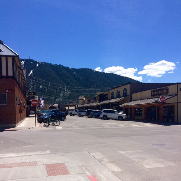 Downtown Jackson Hole, Wyoming