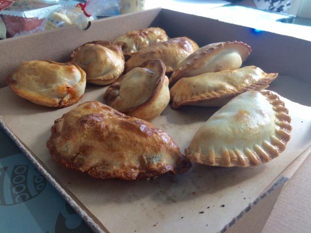 Delicious empanadas from Maria Empanada Denver