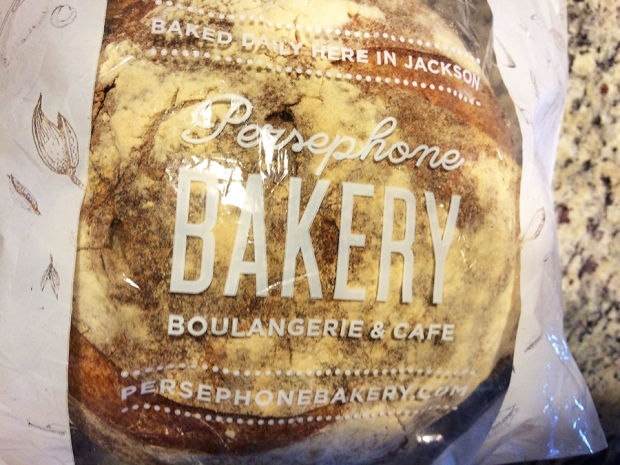 Fresh baked Bread from Persephone Bakery in Jackson Hole, Wyoming | THE REAL LIFE | food, recipes, meals, vegetarian, whole foods, cooking, healthy eating, fitness, eating