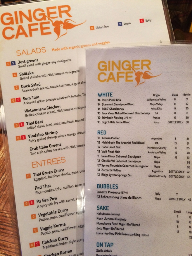 The Ginger Cafe | THE REAL LIFE | Colorado travel, trail running, fitness, vacation, food, foodie, restaurants, intuitive eating