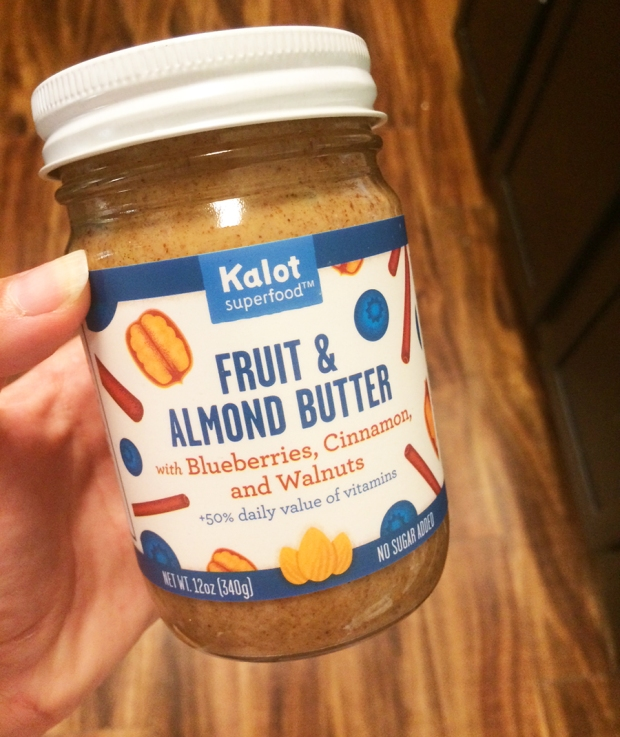 Kalot Superfood Fruit & Almond Butter with blueberries, cinnamon, and walnuts | THE REAL LIFE | food, recipes, meals, vegetarian, whole foods, cooking, healthy eating, fitness, eating