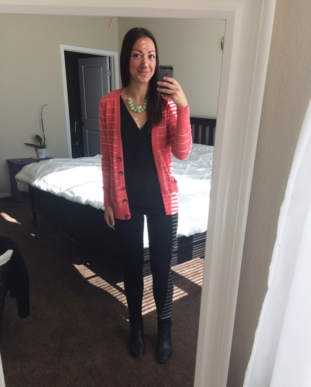 Monday work outfit, black skinny jeans, Outfits of the Week | THE REAL LIFE stitch fix, fashion, clothing, style, outfits, shopping