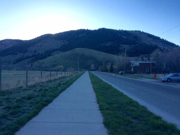 Run near Jackson