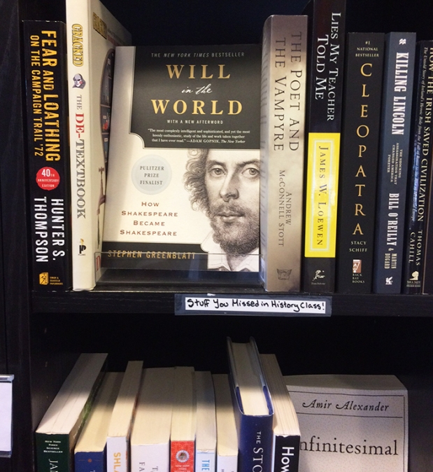 William Shakespeare history books in Townie Books bookstore in Crested Butte, Colorado | THE REAL LIFE | travel, Rocky Mountain getaways, running, fitness, food, restaurants