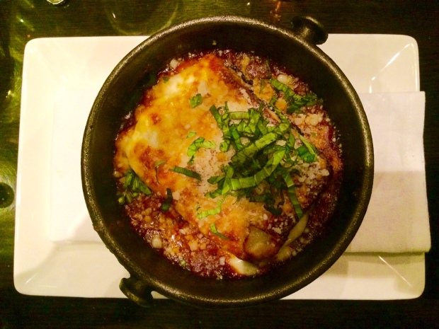 Wild Mushroom and Spinach Lasagna, The Local Restaurant & Bar, Jackson Hole, Wyoming
