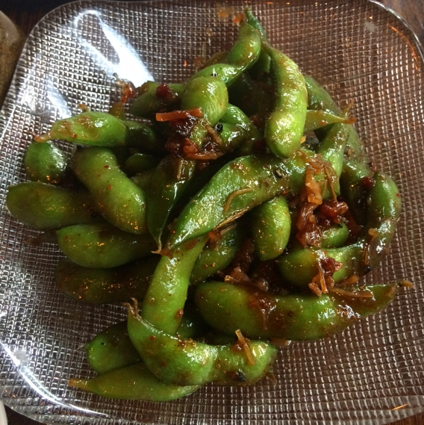 XO Edamame appetizer from Zengo Denver's new menu | THE REAL LIFE food, restaurants, Denver, foodie, Colorado eats