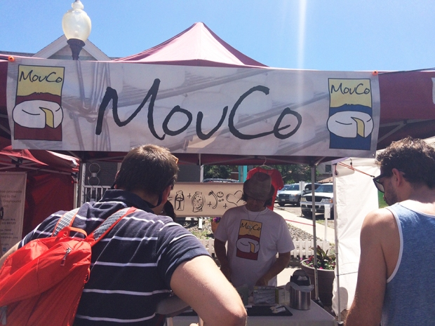 MouCo Cheese, Shopping at the South Pearl Street Farmers Market in Denver, Colorado | THE REAL LIFE blog | lifestyle, food, recipes, foodie, fitness, running, exercise, healthy, organic, local food