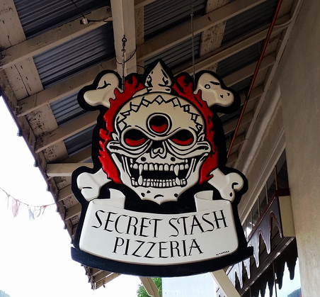 Secret Stash award-winning pizza in Crested Butte, Colorado