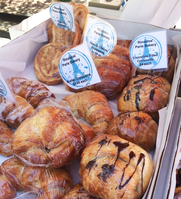 Rinaldo's Paris Bakery baked goods, Shopping at the South Pearl Street Farmers Market in Denver, Colorado | THE REAL LIFE blog | lifestyle, food, recipes, foodie, fitness, running, exercise, healthy, organic, local food