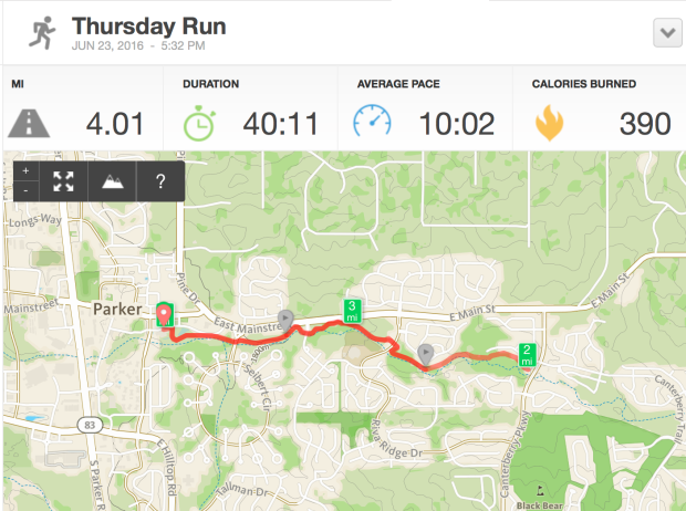 4 Mile Run on the Sulphur Gulch Trail in Parker, Colorado | THE REAL LIFE Blog | running, fitness, food, health, lifestyle