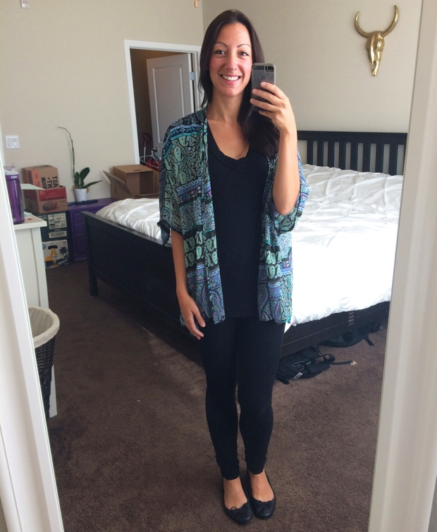 Bellini Kimono, Stitch Fix | THE REAL LIFE Blog | My Stitch Fix #5: Which should I keep?