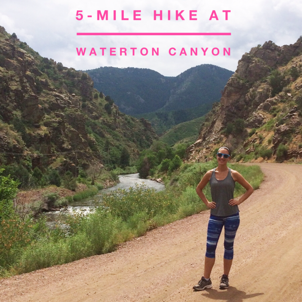 Hiking 5 miles at Waterton Canyon, the Denver terminus for the Colorado Trail | THE REAL LIFE Blog | fitness, running, health, eating, food, foodie, Colorado.jpg
