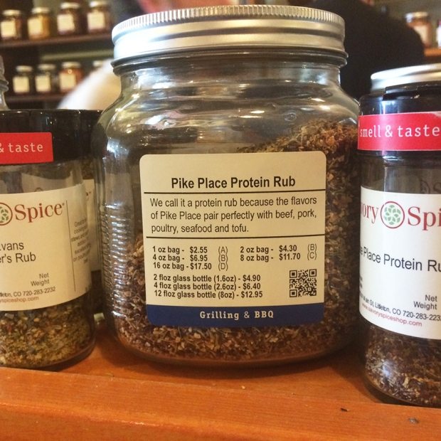 Pike Place Protein Rub, Savory Spice Shop in Littleton Colorado
