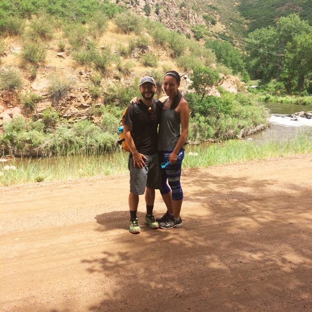 Hiking 5 miles at Waterton Canyon, the Denver terminus for the Colorado Trail | THE REAL LIFE Blog | fitness, running, health, eating, food, foodie, Colorado