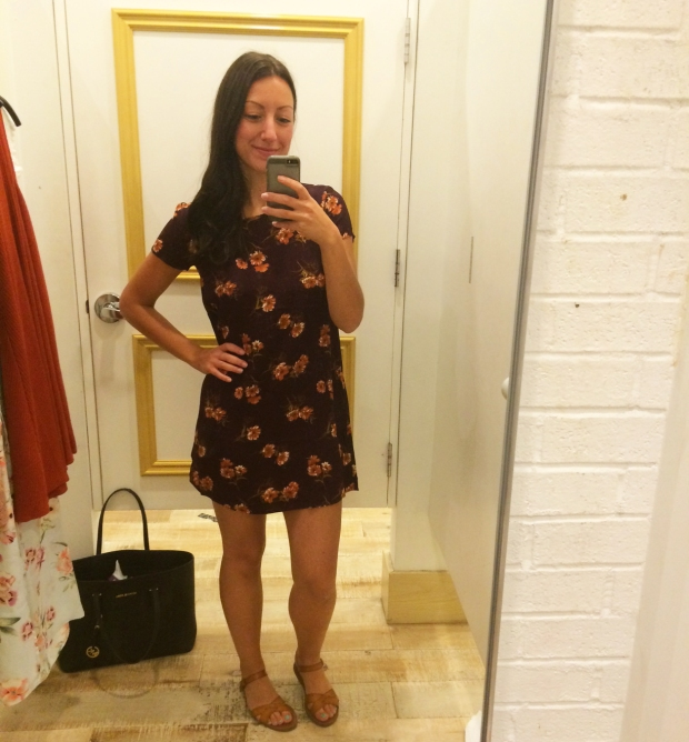 Maroon Dress, Forever 21