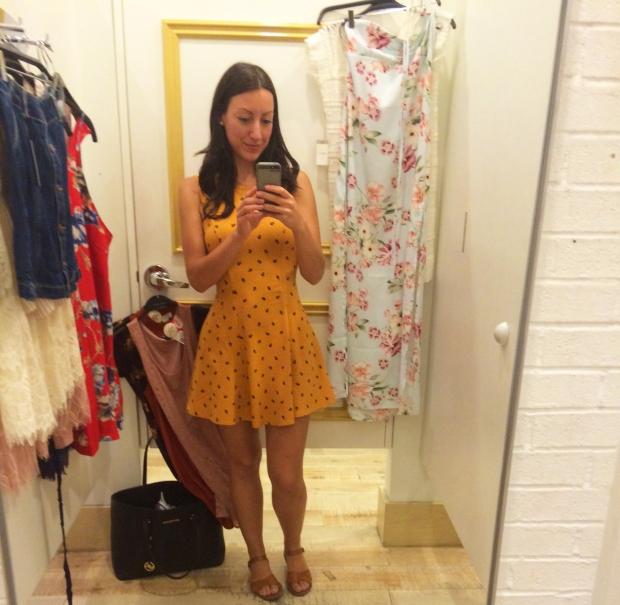 Mustard dress, Forever 21