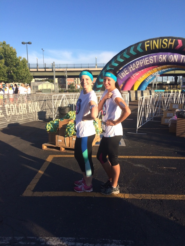 A race recap of The Color Run Denver