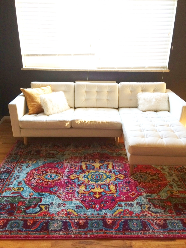 ikea-couch-and-overstock-rug