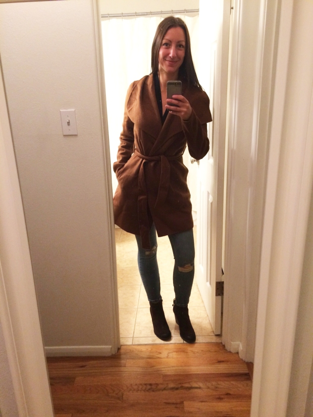 Stitch Fix #6: Wrap Jacket | THE REAL LIFE Blog | fashion, fitness, food, lifestyle, Colorado