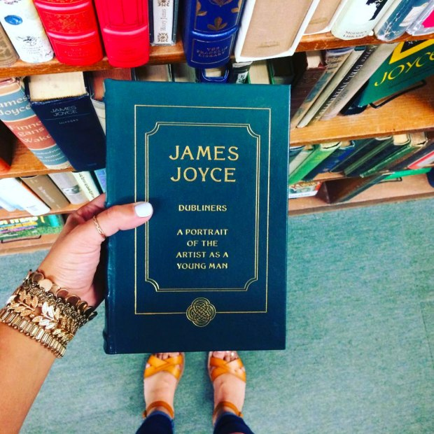 James Joyce | Reading is to the mind what exercise is to the body!