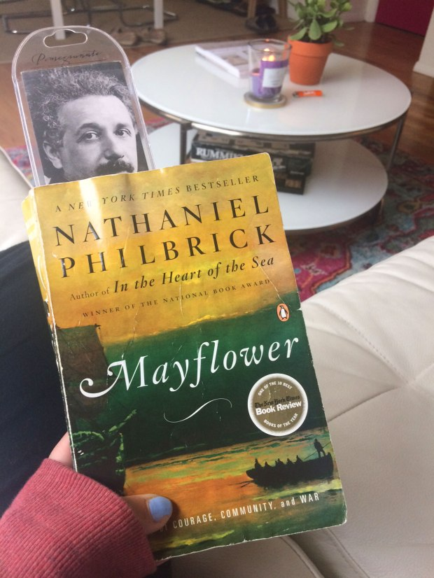Mayflower by Nathaniel Philbrick | Reading is to the mind what exercise is to the body!