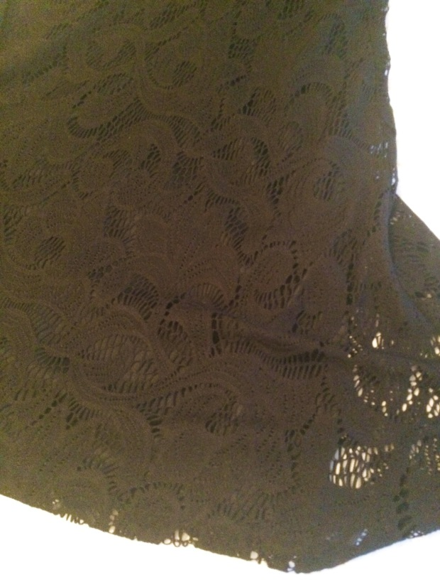 Detail of Leeah Lace Knit Dress, $68, My 8th Stitch Fix: A Lesson in Feedback | THE REAL LIFE blog | fitness, food, fashion, and fun in Colorado
