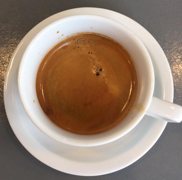 Espresso from Rosebud Cafe in Wash Park Denver, CO
