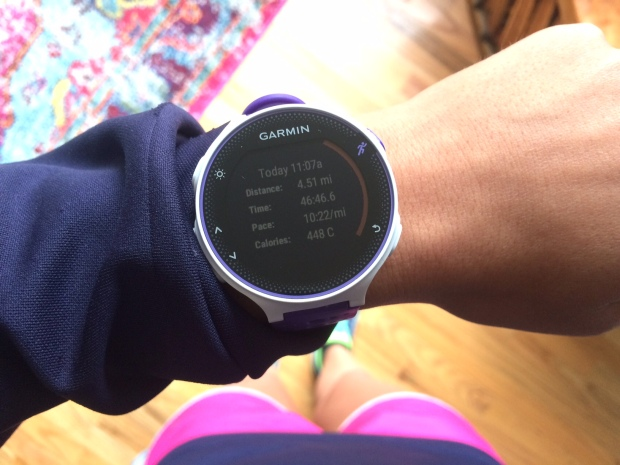 Garmin running watch stats 2