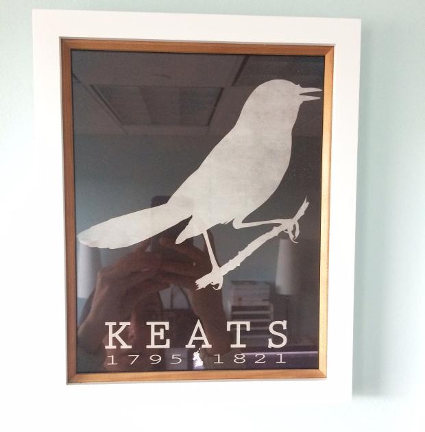 Keats print form Etsy