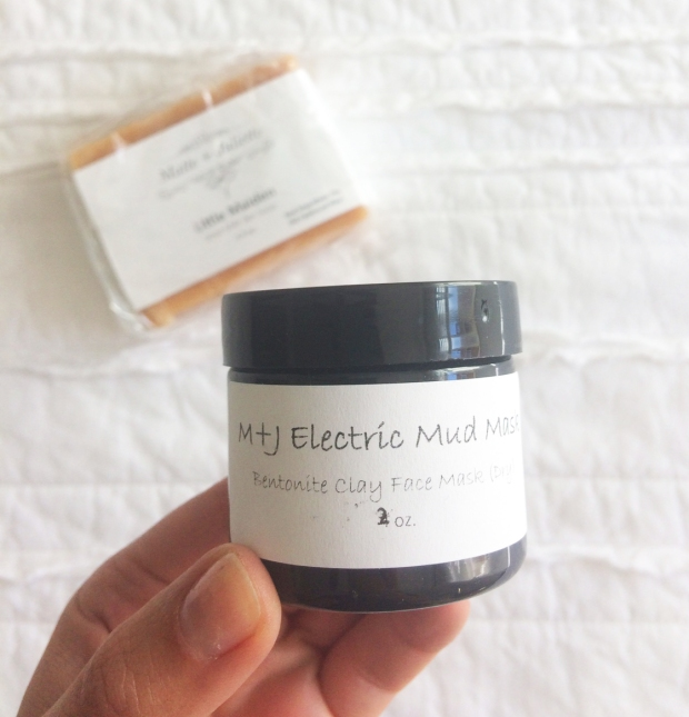 Matte + Juliette Electric Mud Mask, Bentonite Clay Fash mask, spa day at home