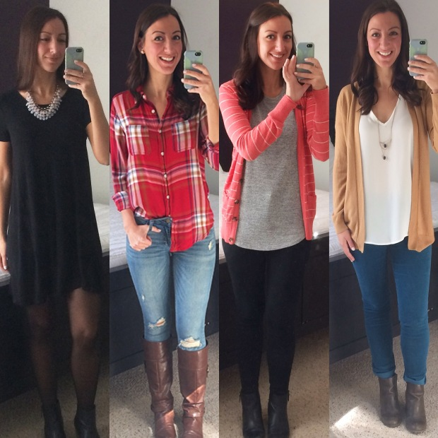Outfits of the week! | THE REAL LIFE blog | food, fashion, fitness, and fun in Colorado