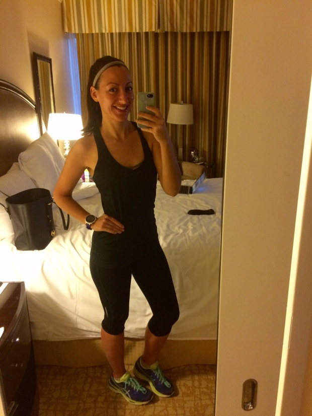 Ready to run from Beverly Hilton to Rodeo Drive