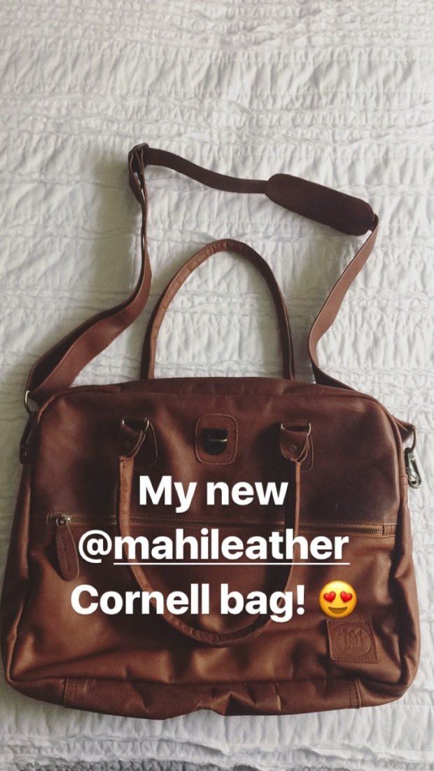 New Mahi Leather Cornell bag