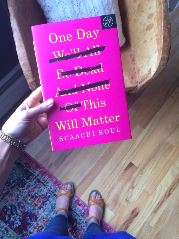 One Day We'll All Be Dead and None of This Will Matter book of the month club.jpg