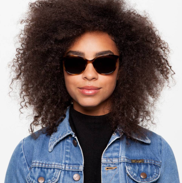 The Laurel Sunglasses by Warby Parker, Oak Barrel with Classic Brown lenses