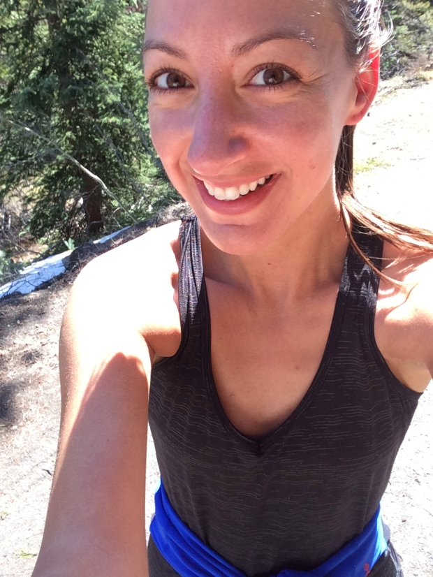 Another run selfie, Lower Loop Trail, Crested Butte, Colorado