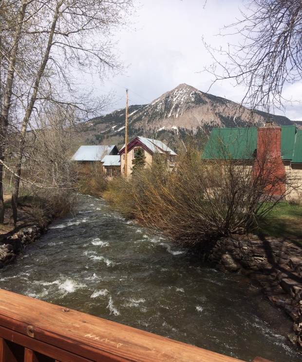 Coak Creek and mountain, Crested Butte