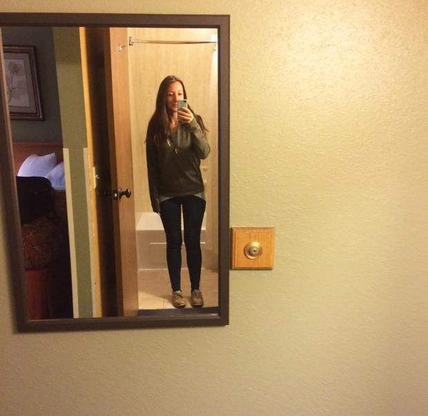 Mirror in hotel